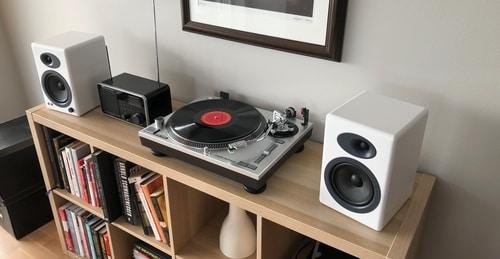 Best Powered Speakers for Audio Technica AT LP60 | Vinyl Restart