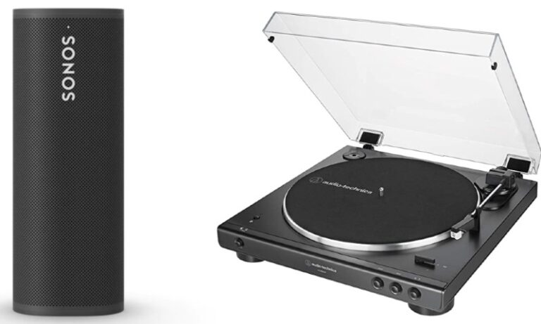 Connect Sonos Roam to Turntable (3 Methods)