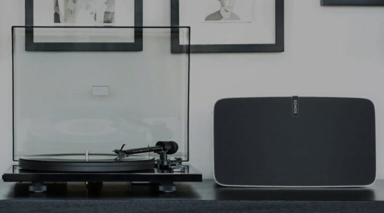 Connect Sonos Five to Turntable (3 Methods)